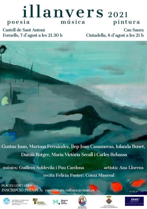 Fornells i Ciutadella, escenaris de la poesia, música i pintura que omplirà la XVI edició d'Illanvers